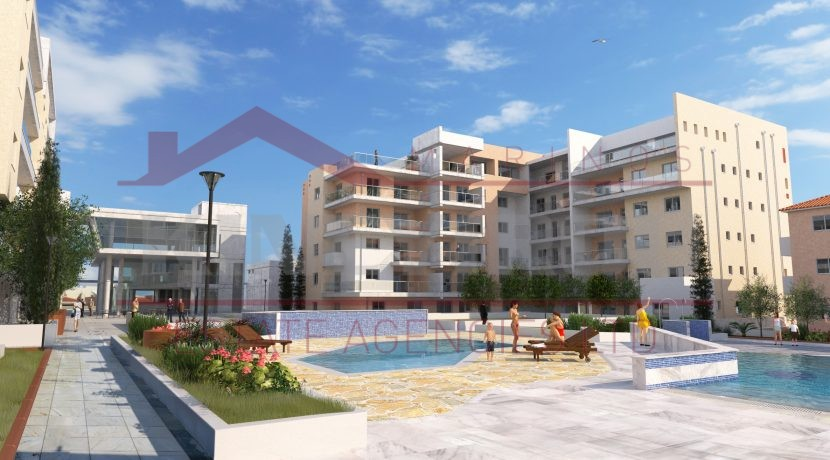 Cyprus property - two bedroom apartment for sale in Paphos - Larnaca properties