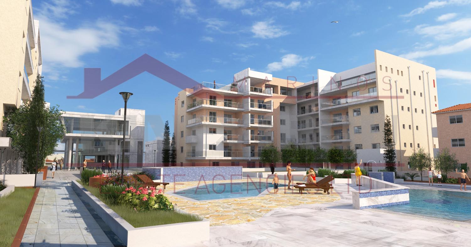 Cyprus property, two bedroom apartment in Paphos
