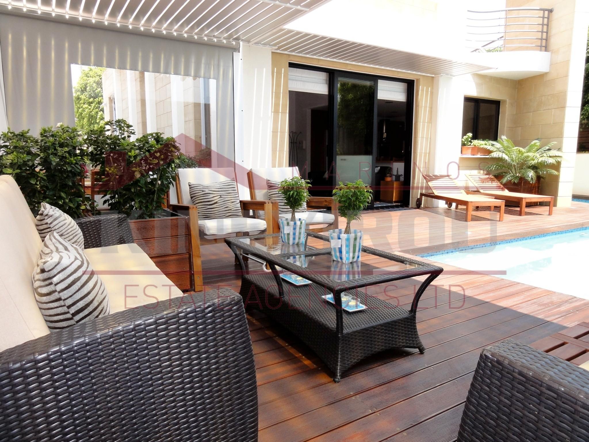 Luxury, Five Bedroom House For Rent House near K. Cineplex, Larnaca