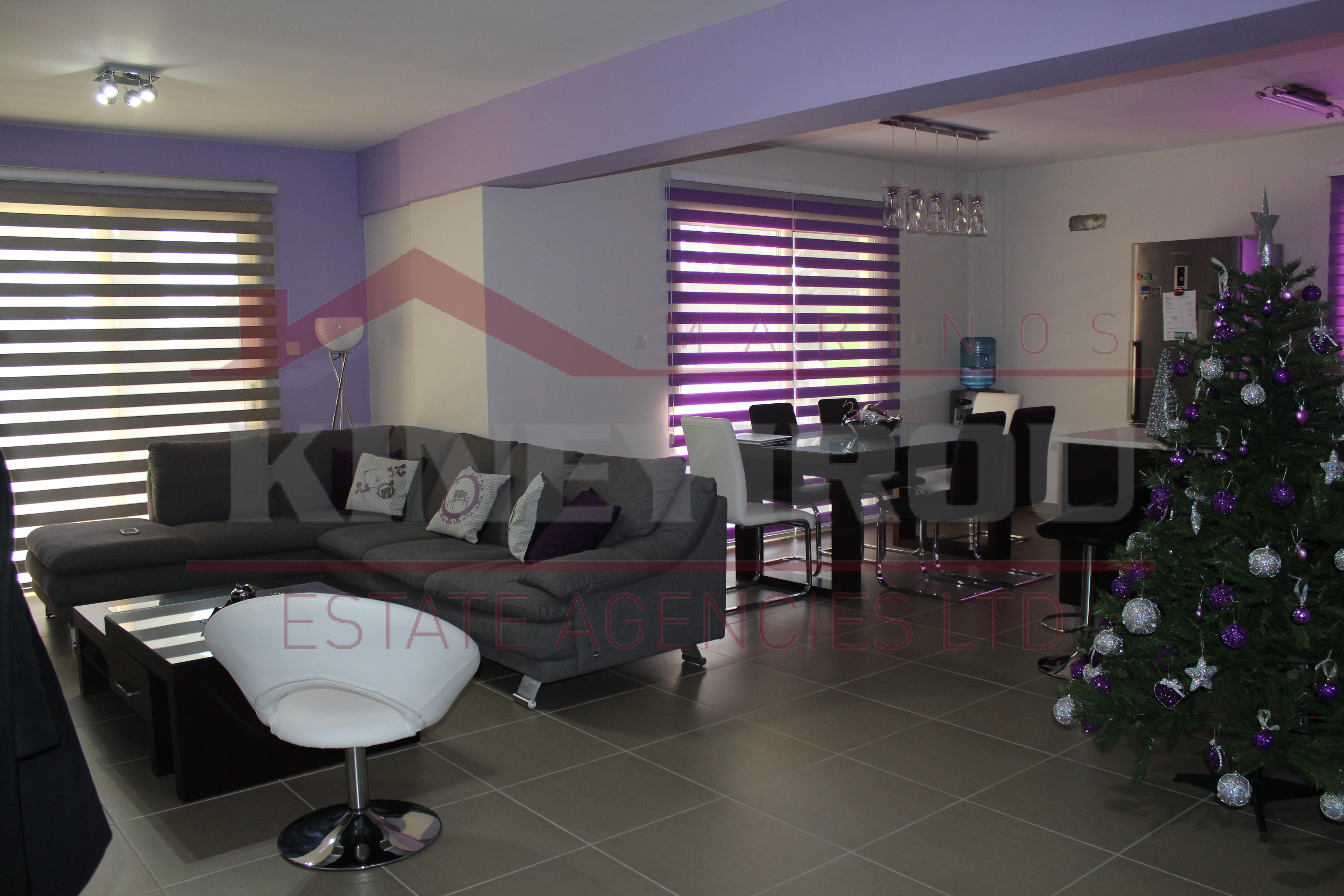Luxury 3 bedroom apartment in Perivolia – Larnaca