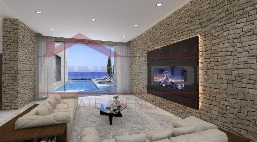 Luxury sea front Villa in Paphos - Larnaca properties