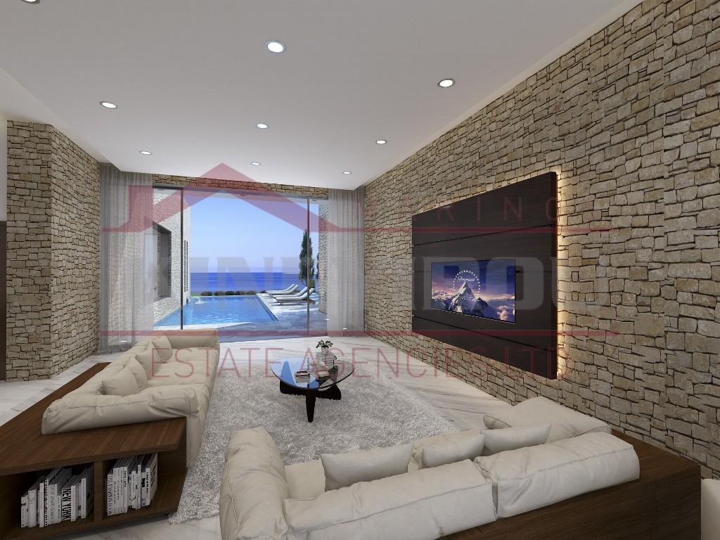 Luxury sea front Villa in Paphos