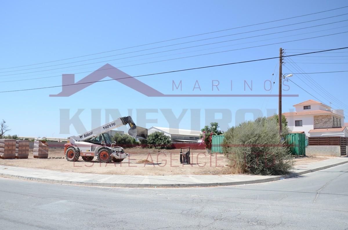 Property in Cyprus For Sale – Plot  In Krasa, Larnaca