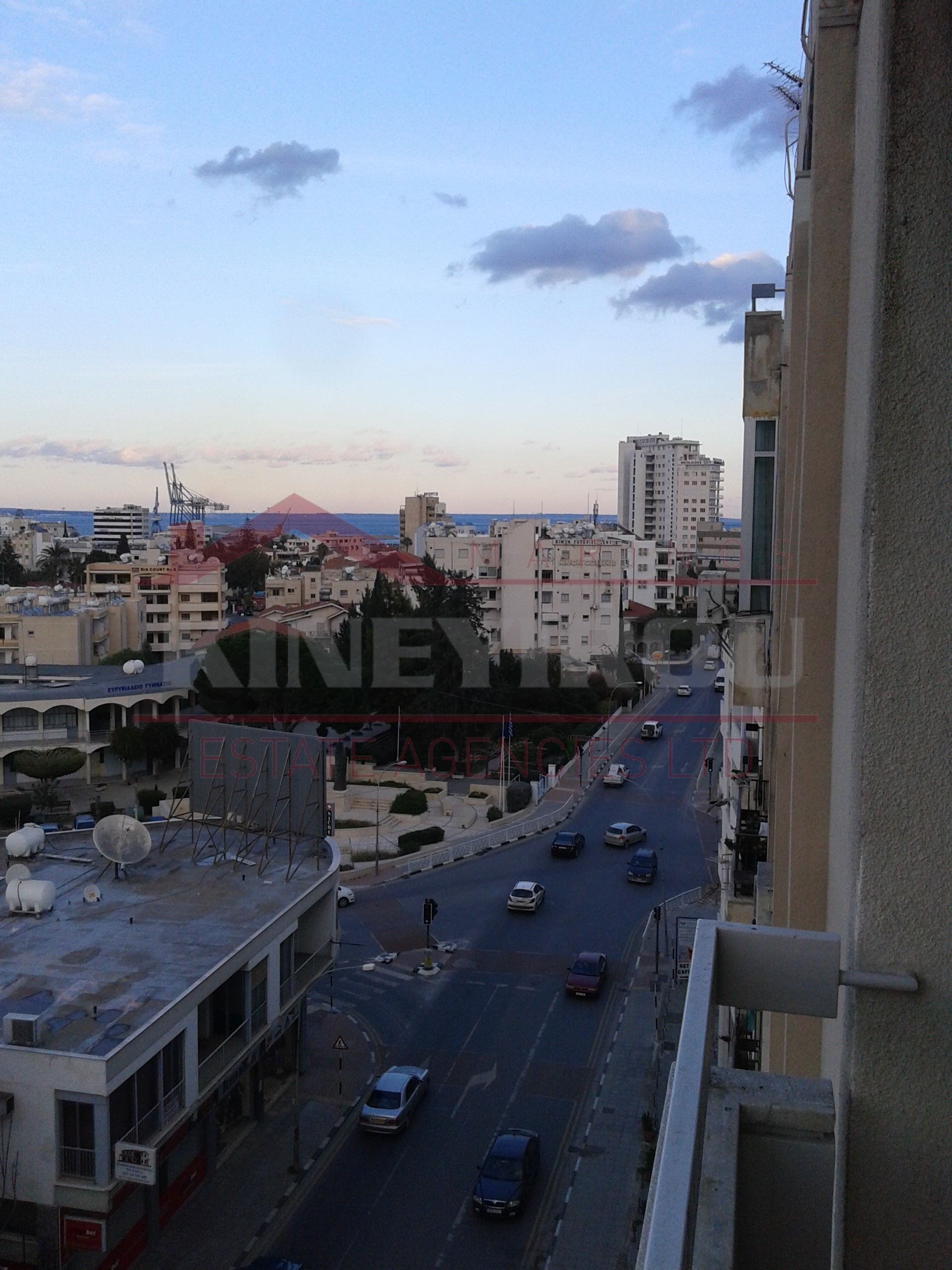 Spacious two bedroom apartment for rent, in Larnaca town center