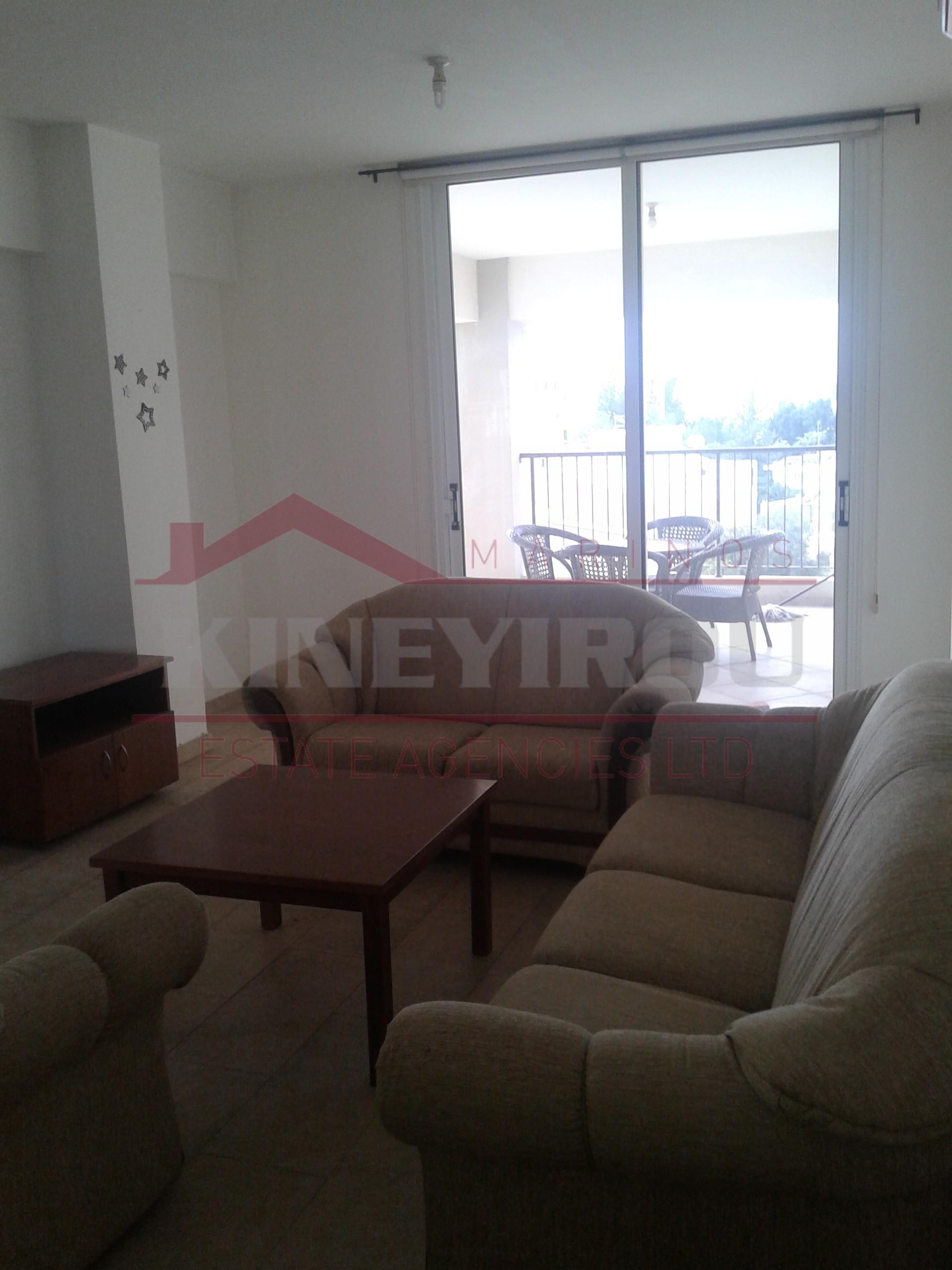 2 bedroom apartment for rent in Prodromos – Larnaca