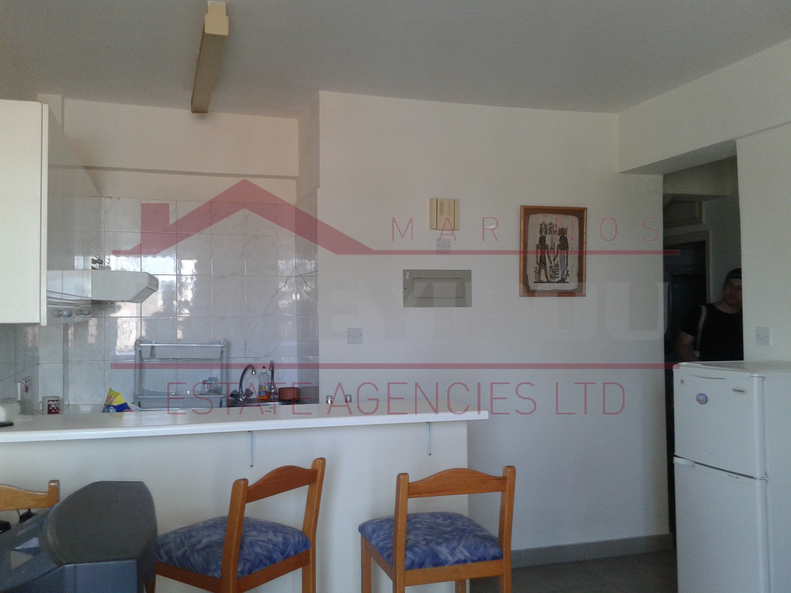 1 bedroom apartment for rent in town center – Larnaca