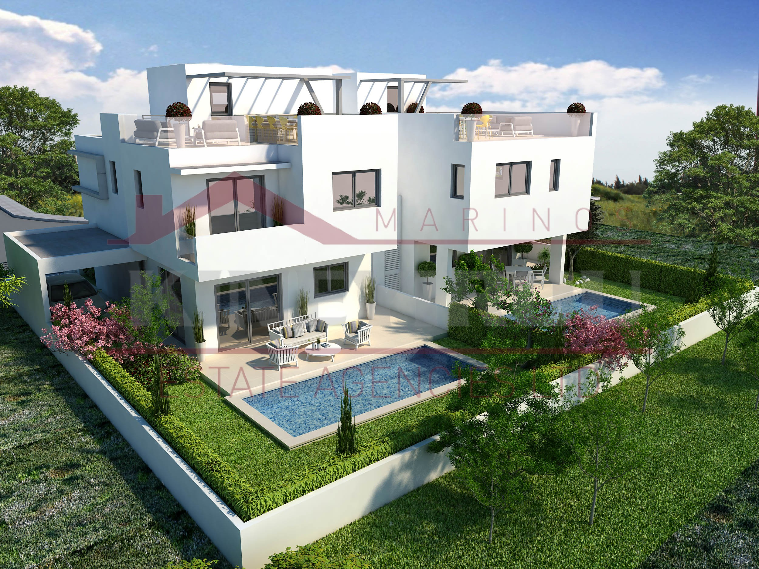 Spacious three Bedroom House For Sale Livadia, Larnaca