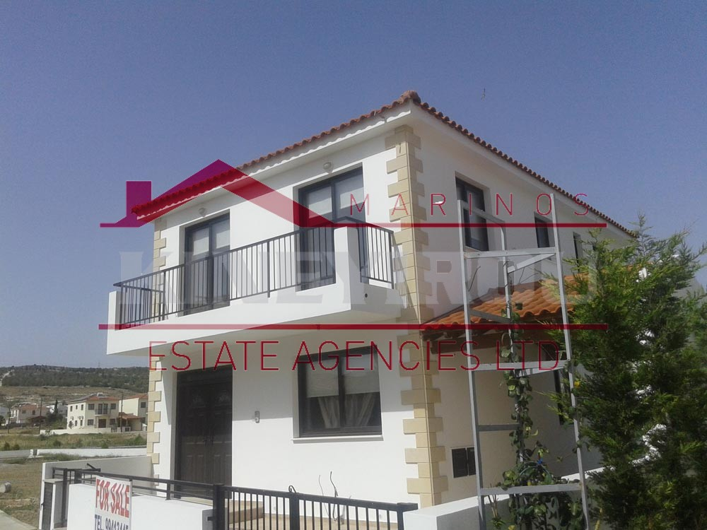 Three bedroom house for sale in Pyla – Larnaca