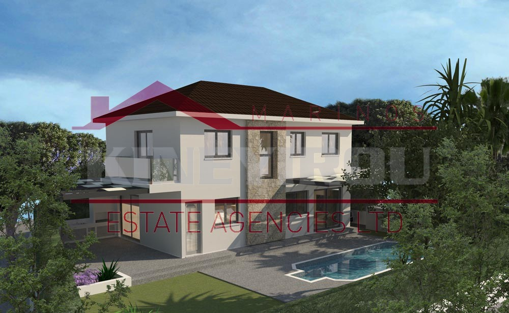 Amazing four bedroom house for sale in Germasogeia, Larnaca