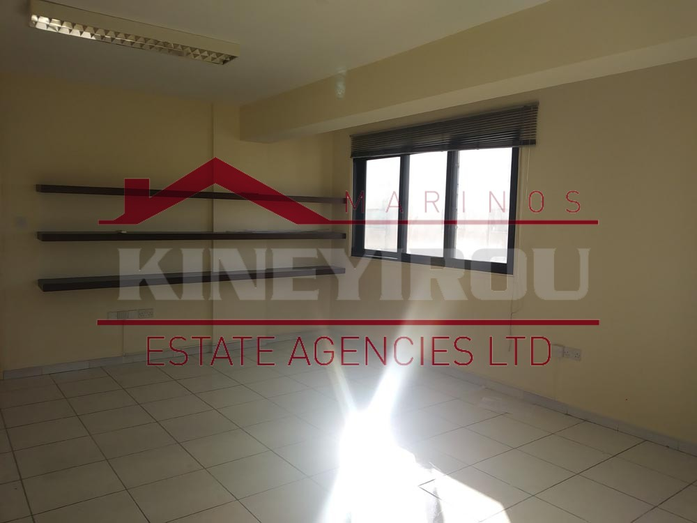 Office for Rent in the Town Center, Larnaca