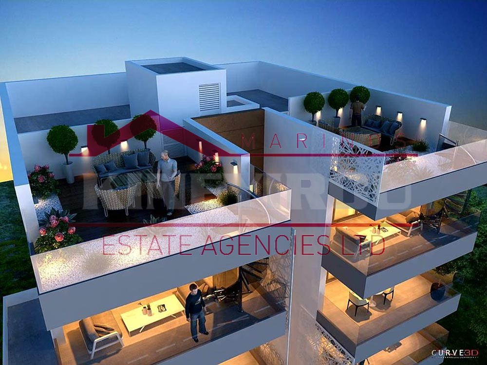 Luxury apartment for sale in Faneromeni, Larnaca