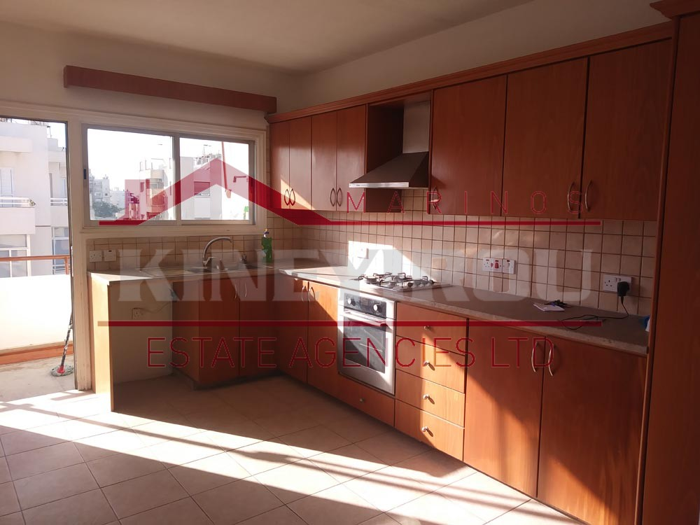 Three Bedroom Apartment For Rent, in Faneromeni – Larnaca