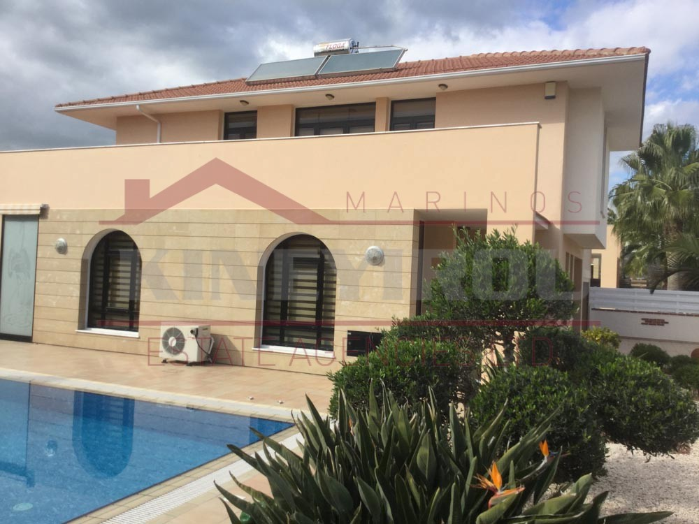Detached 4 bedroom House for sale in Dekelia road, Larnaca