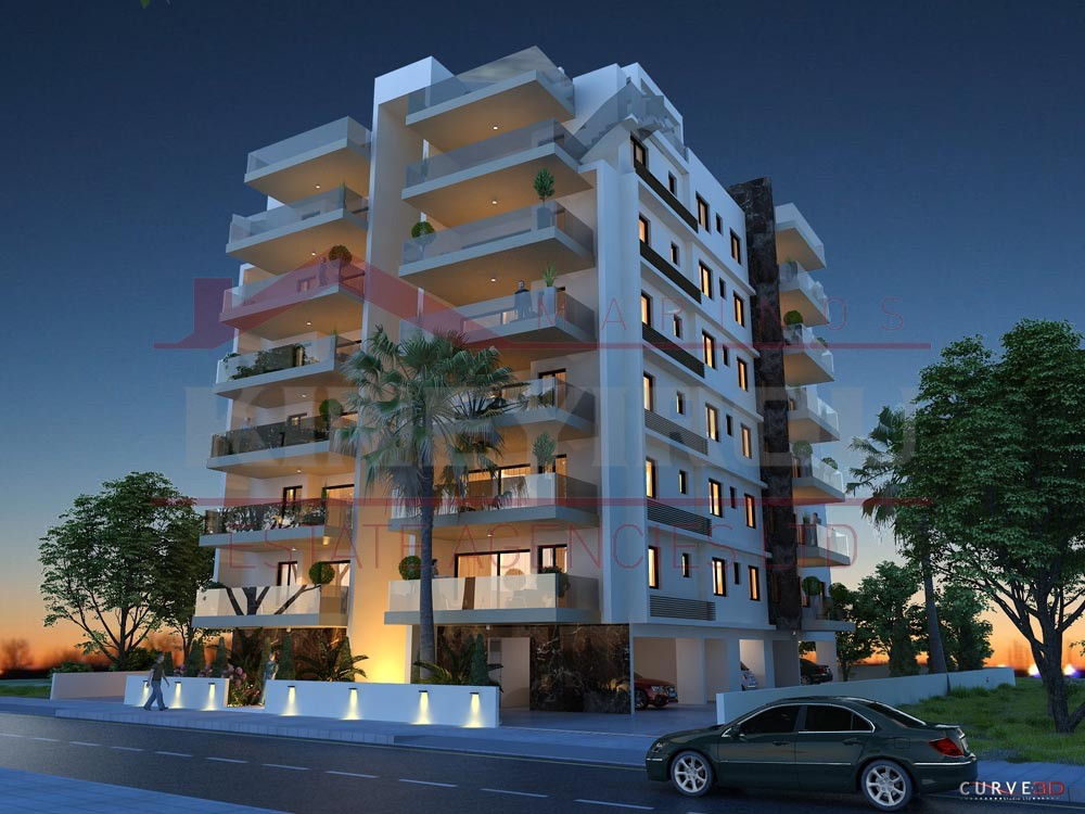 Luxury two bedroom apartment for sale, near American Acadeny, Larnaca