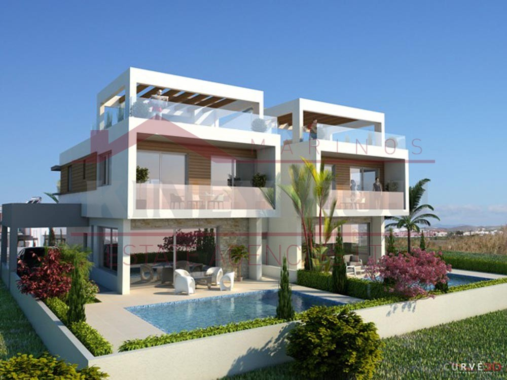 New 3 bedroom house for sale, on Dekelia Road, Larnaca