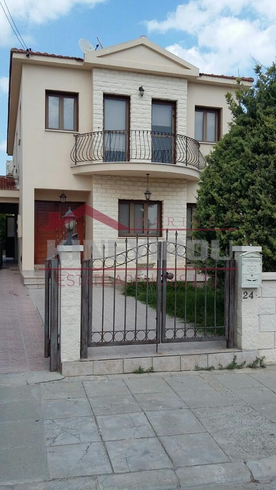 Four Bedroom House for Rent in Aradippou – Larnaca
