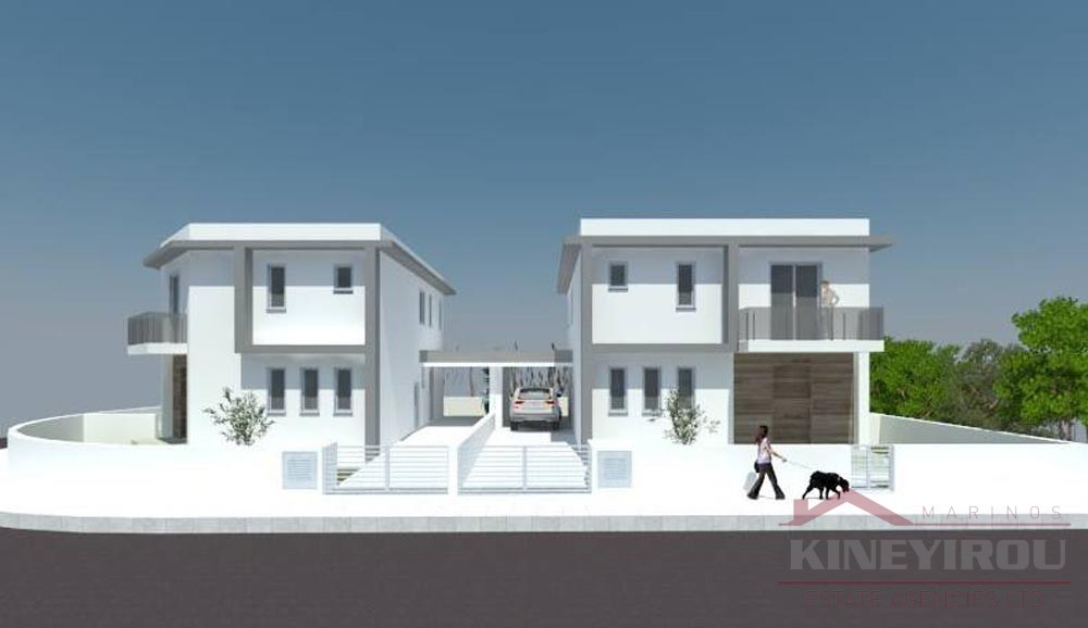 Two beautiful luxury villas are under construction – Larnaca, Oroklini