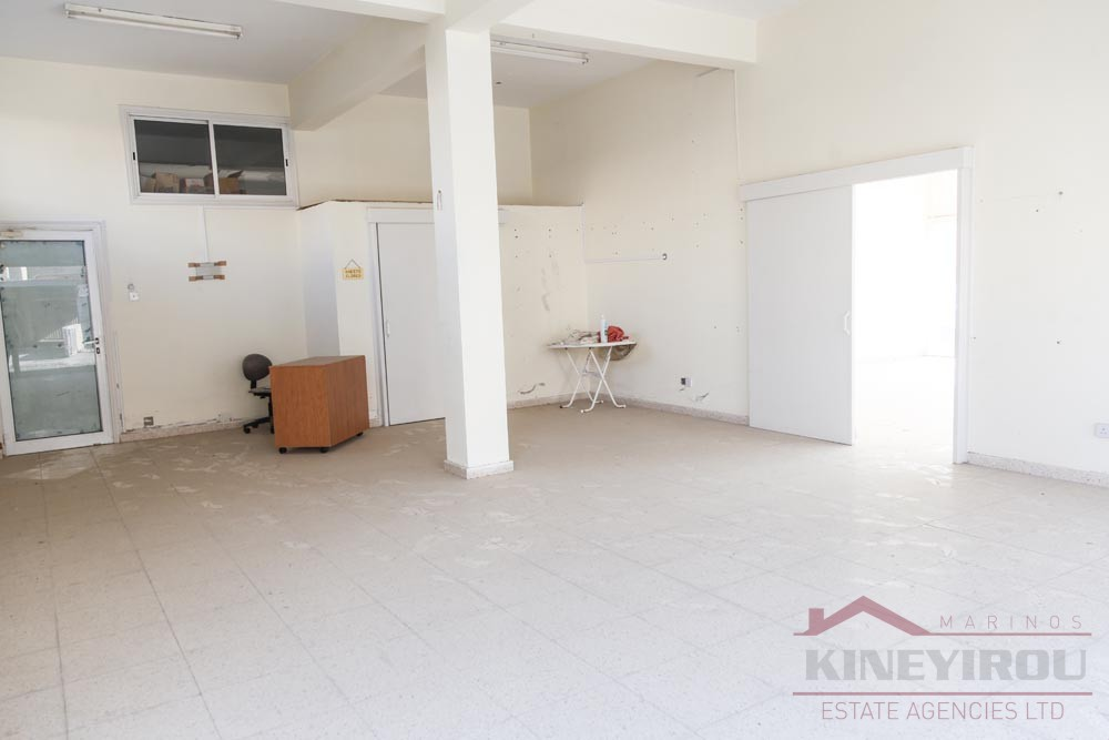Spacious three Shops + two apartments for sale in Larnaca, Proodromos