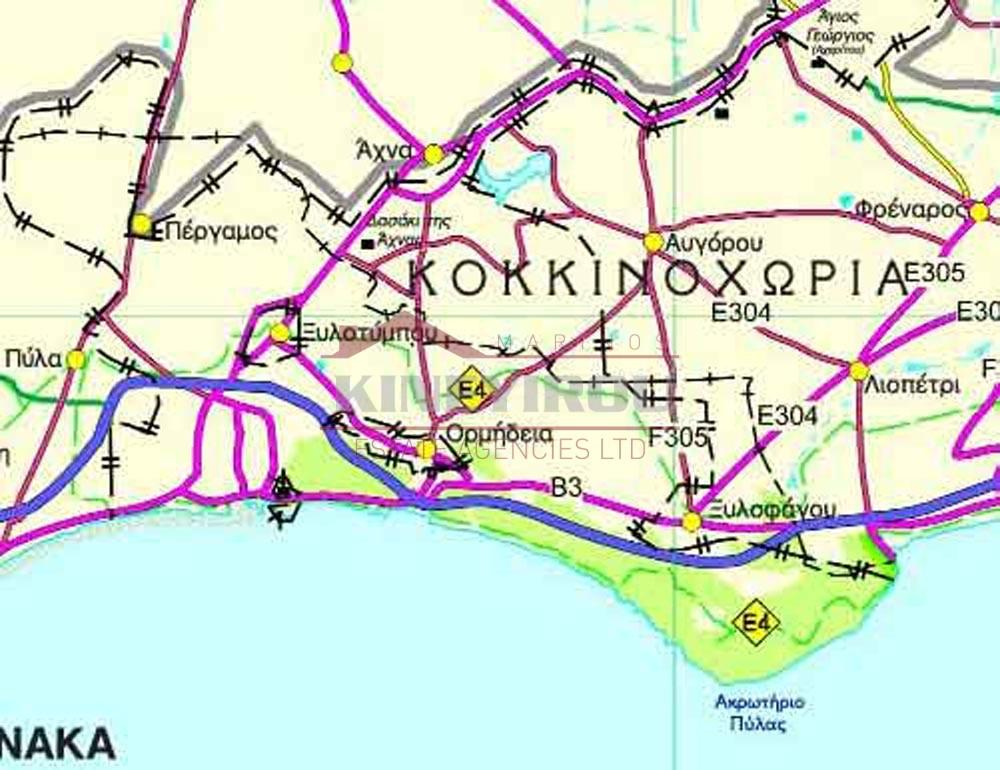 Plot For Sale In Larnaca- Ormidia