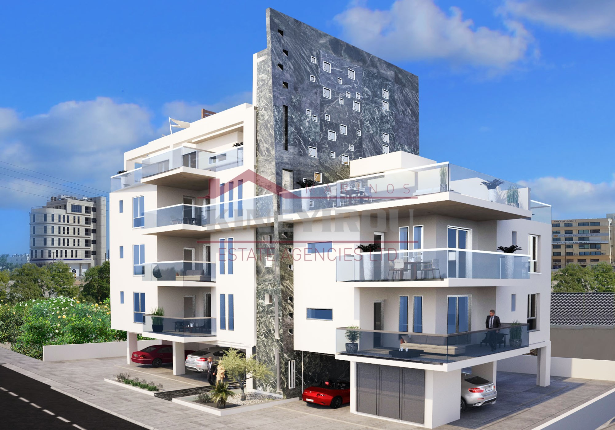 Luxury Two Bedroom Flat For Sale In Larnaca