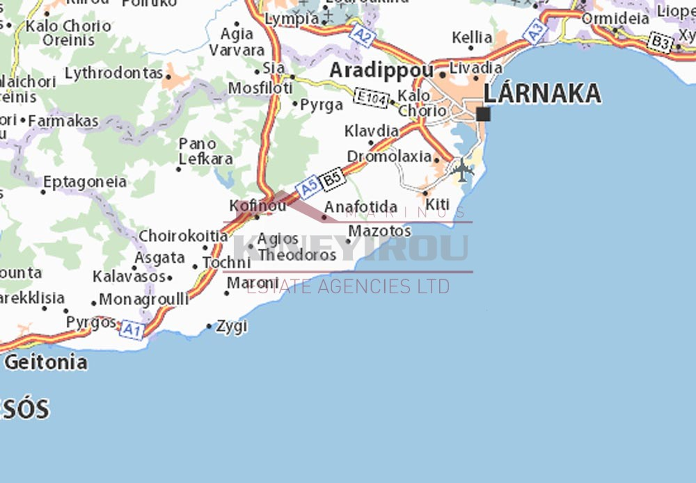 Plot For Sale in Mazotos- Larnaca