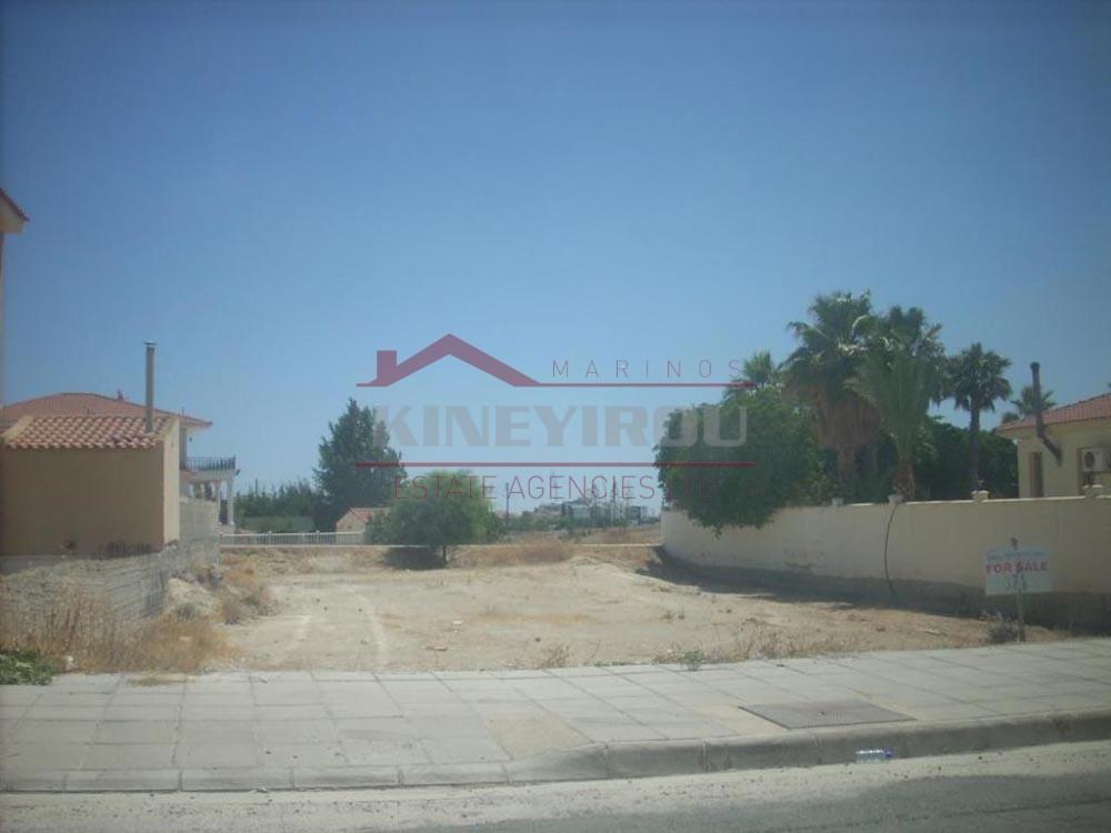 Plot For Sale in Aradippou – Larnaca