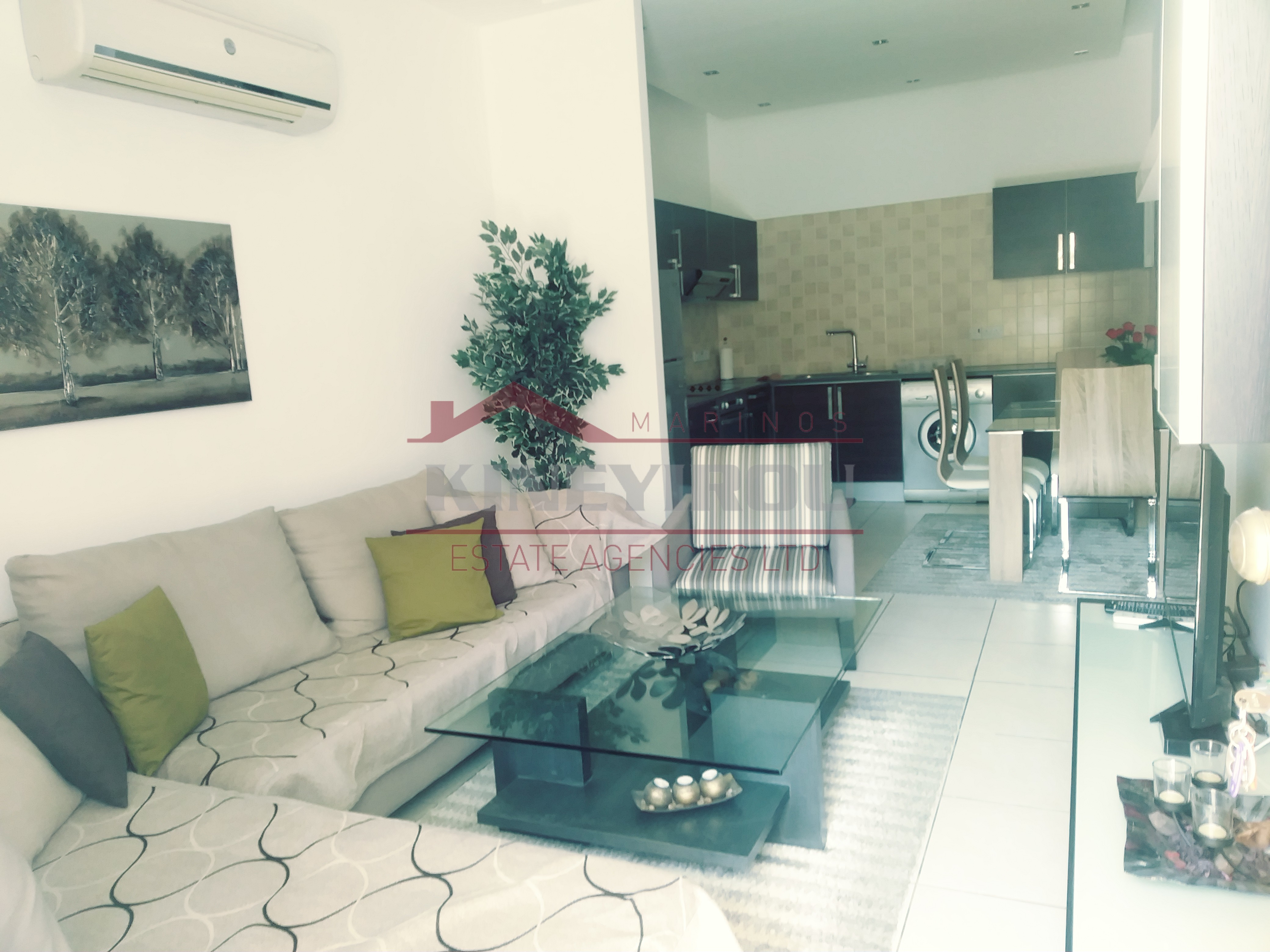 Two Bedroom ground Floor Apartment in Larnaca Center