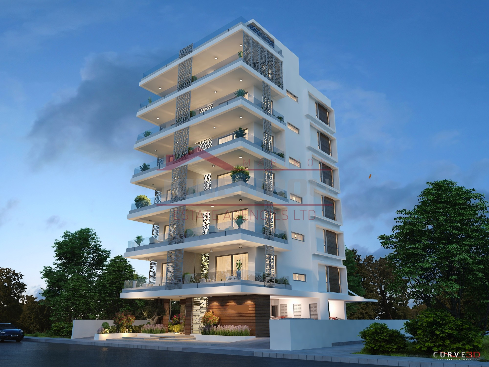 Luxury apartment for sale in Makenzie – Larnaca