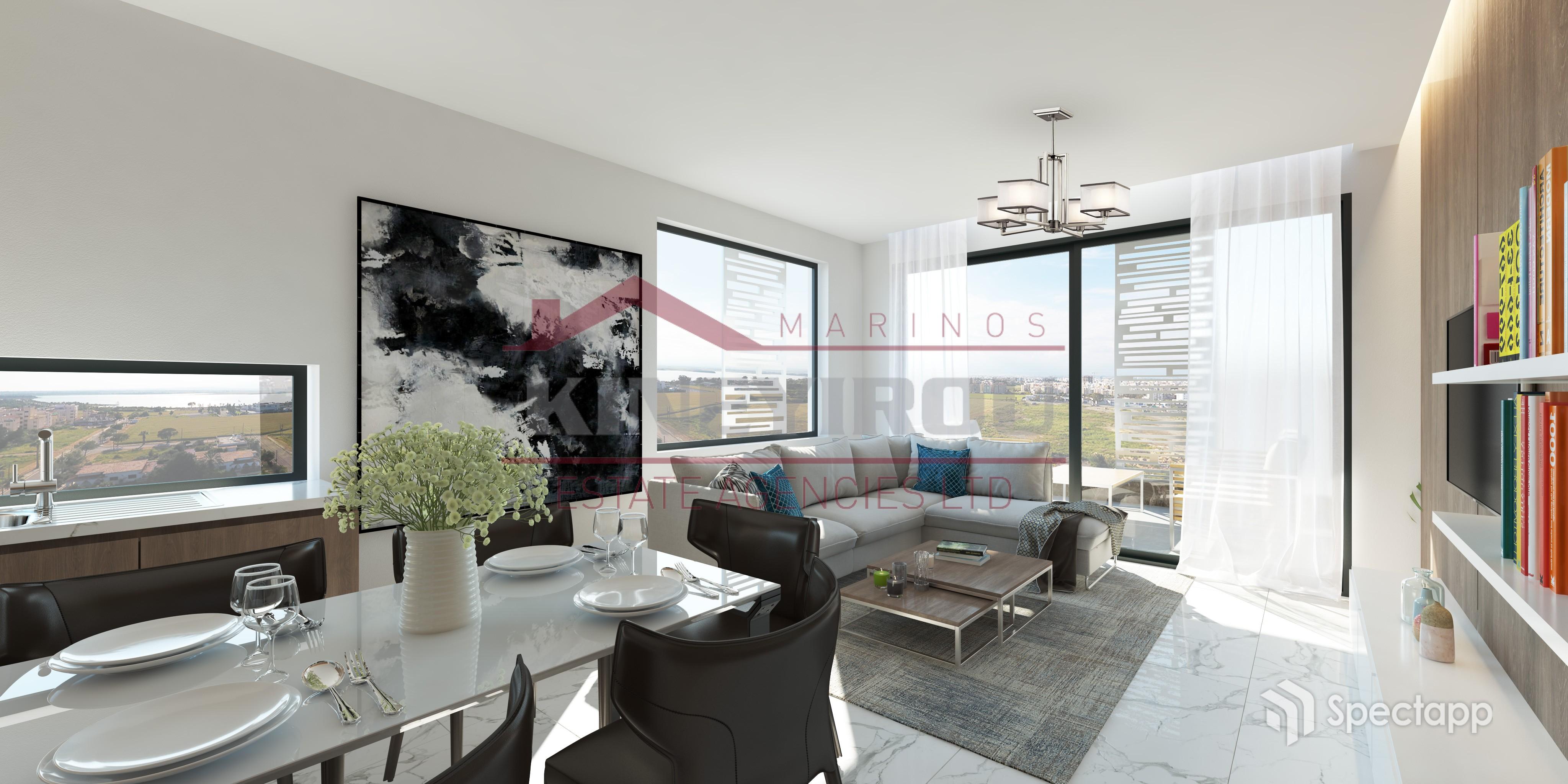 luxury apartment for sale in Makenzie – Larnaca