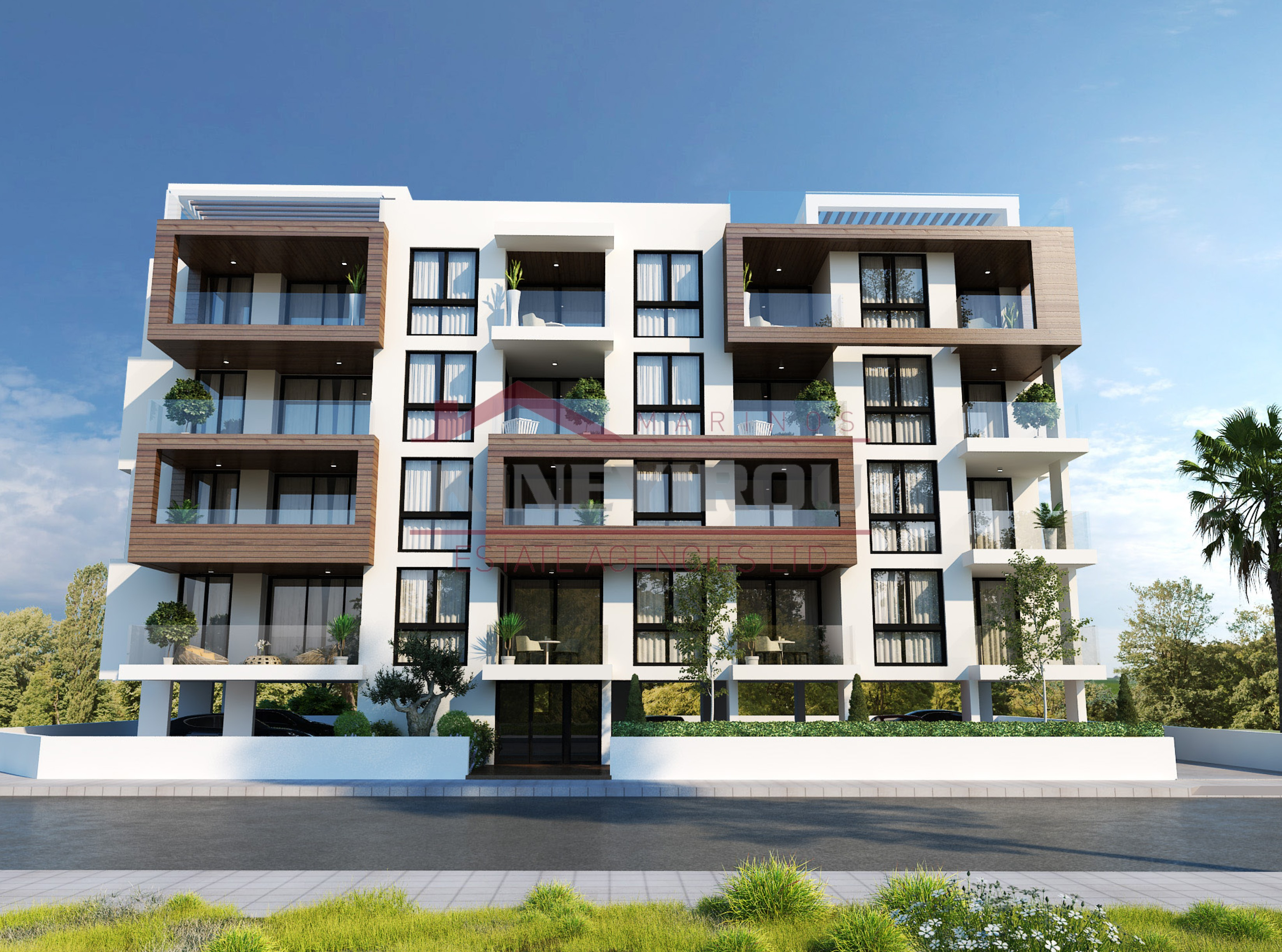 Luxury 2 Bedroom Under Construction Apartment in New Marina, Larnaca.