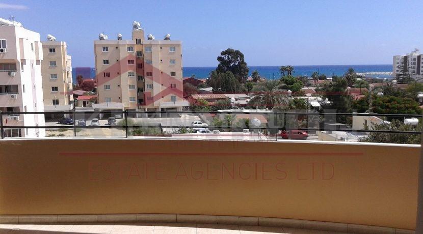Sea View, 2 Bedroom Apartment In Makenzy, Larnaca