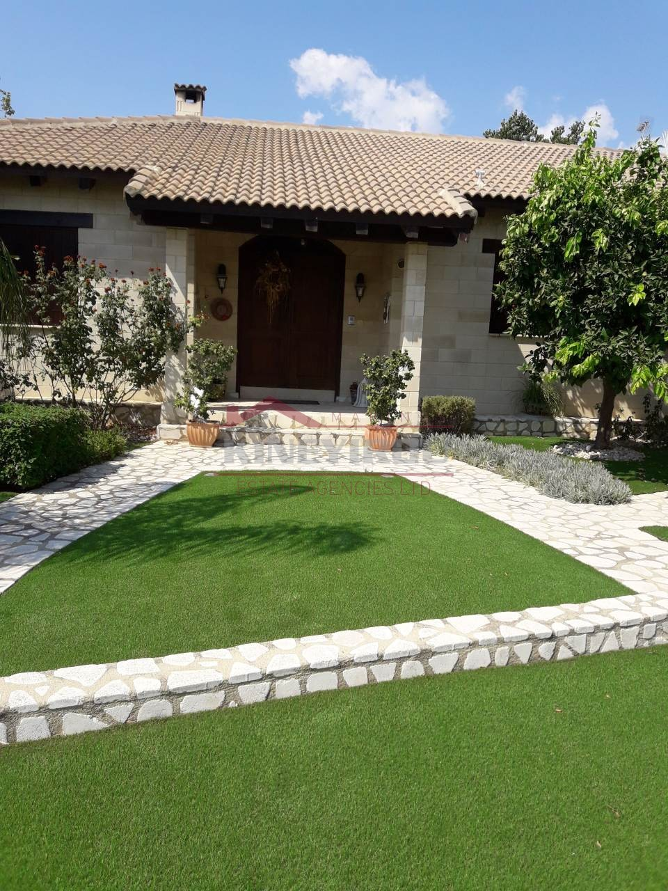 Four bedroom, bungalow house in Oroklini , Larnaca