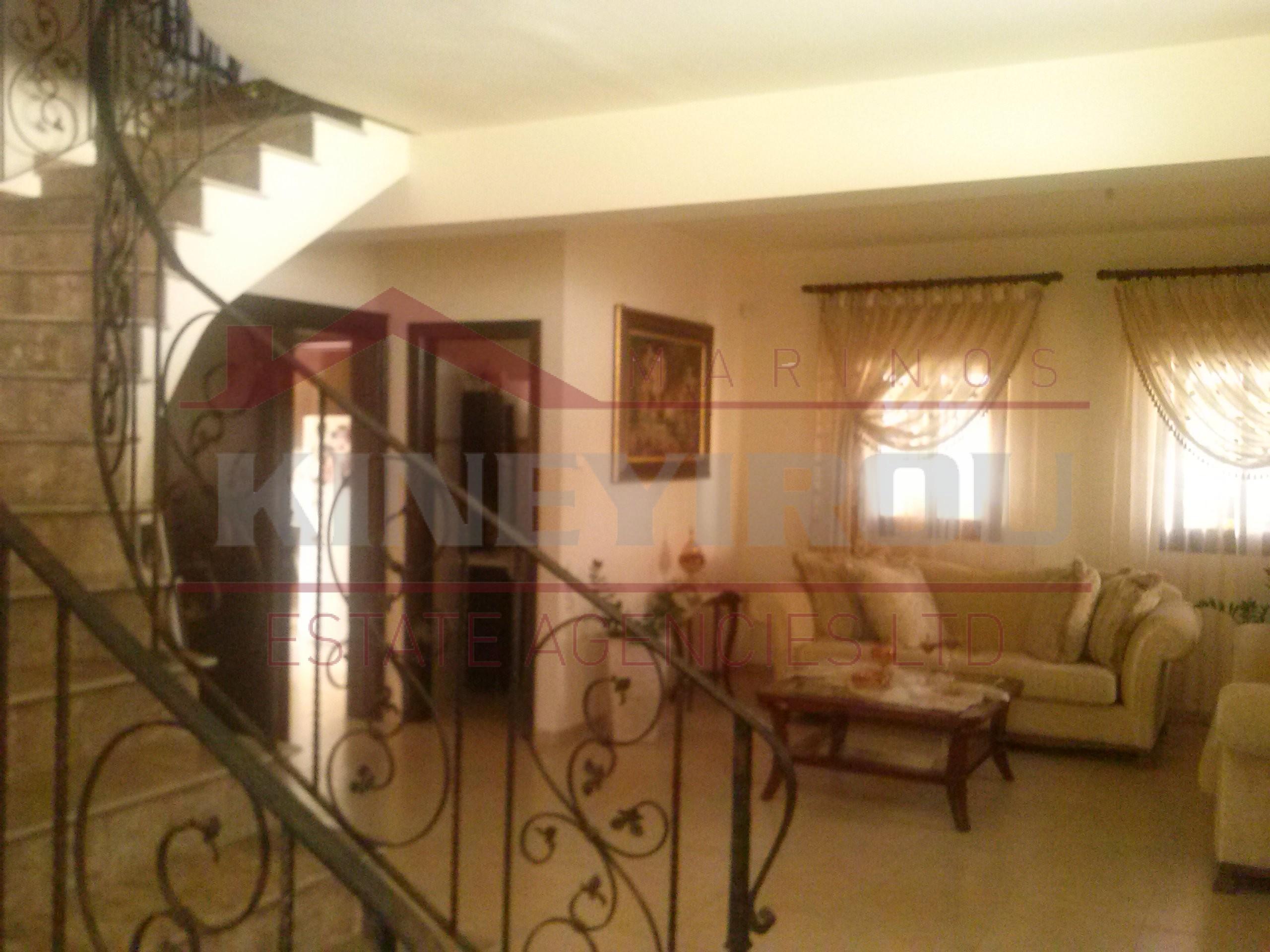 4 bedroom house  in Tersefanou , Larnaca