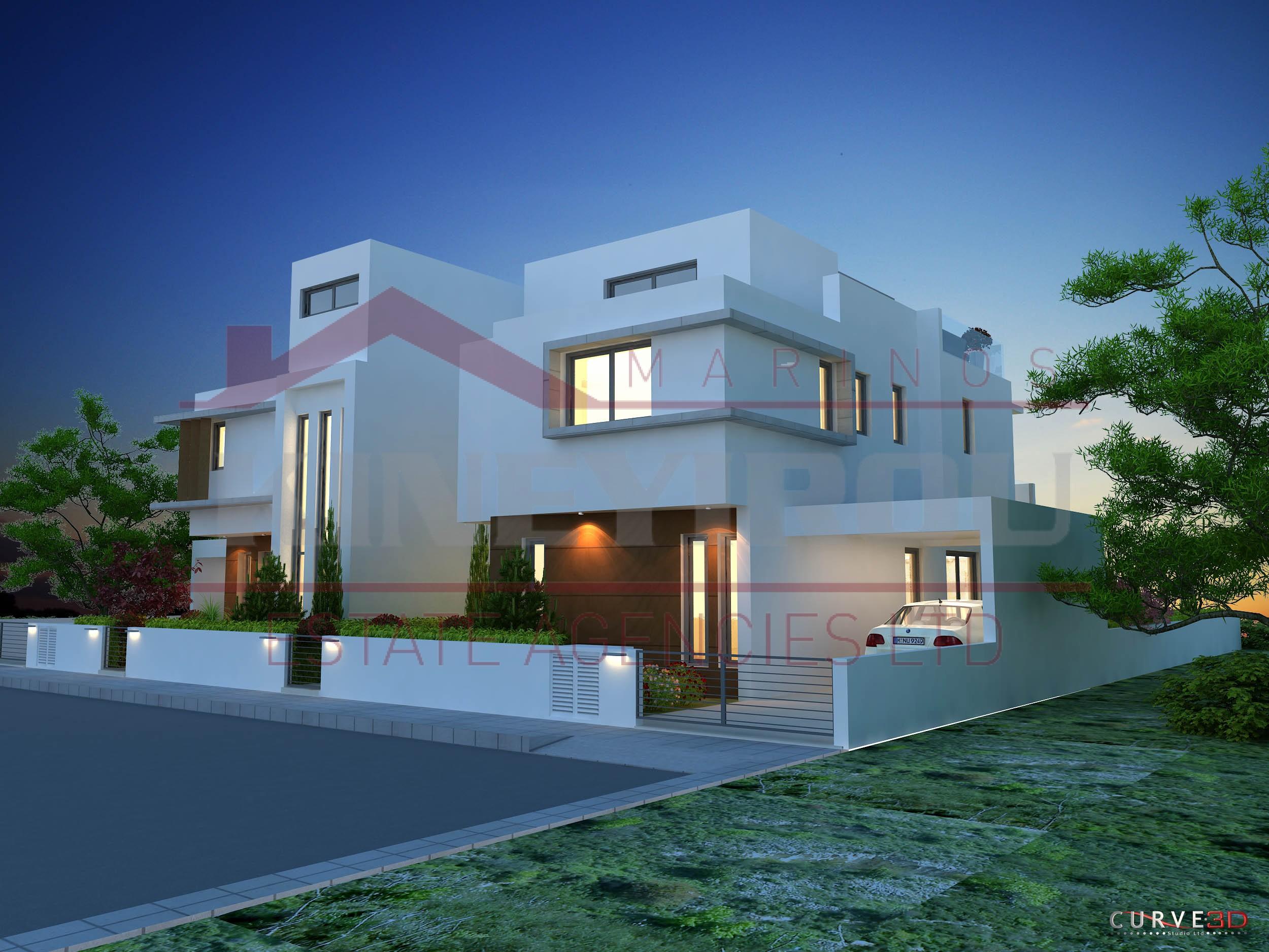 Spacious Three Bedroom House For Sale Livadia Larnaca