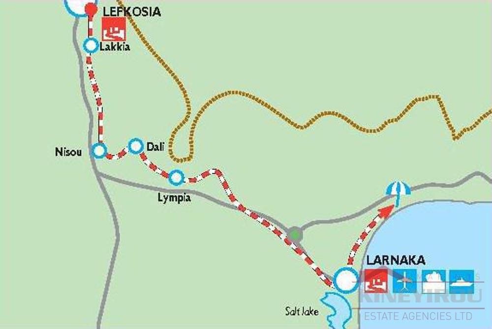 Land in Lymbia,Nicosia