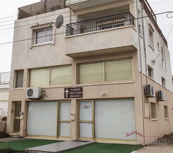 Building  near the Port area Larnaca