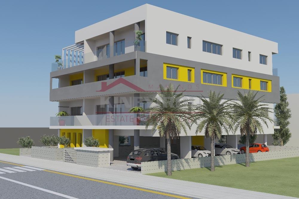 Building near satirical theater, Nicosia