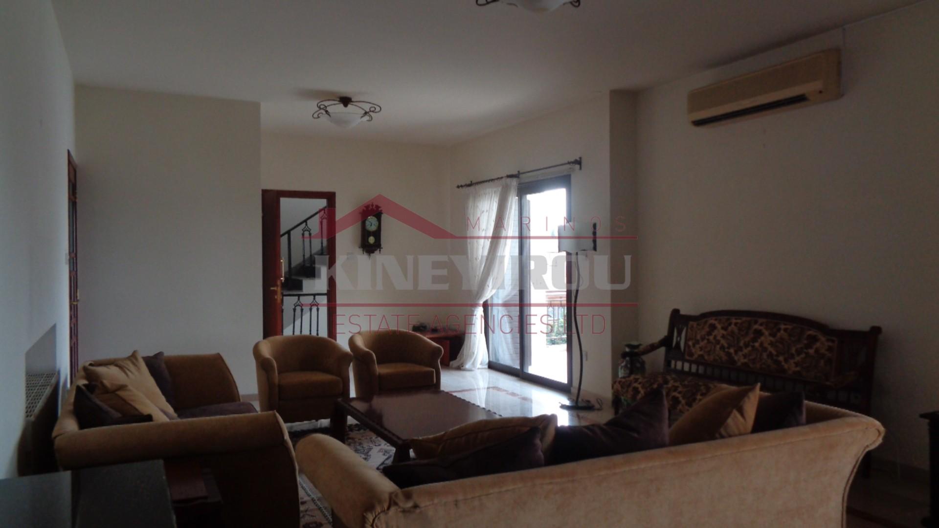 4 Bedrooms Upper House in Faneromeni Area, Larnaca