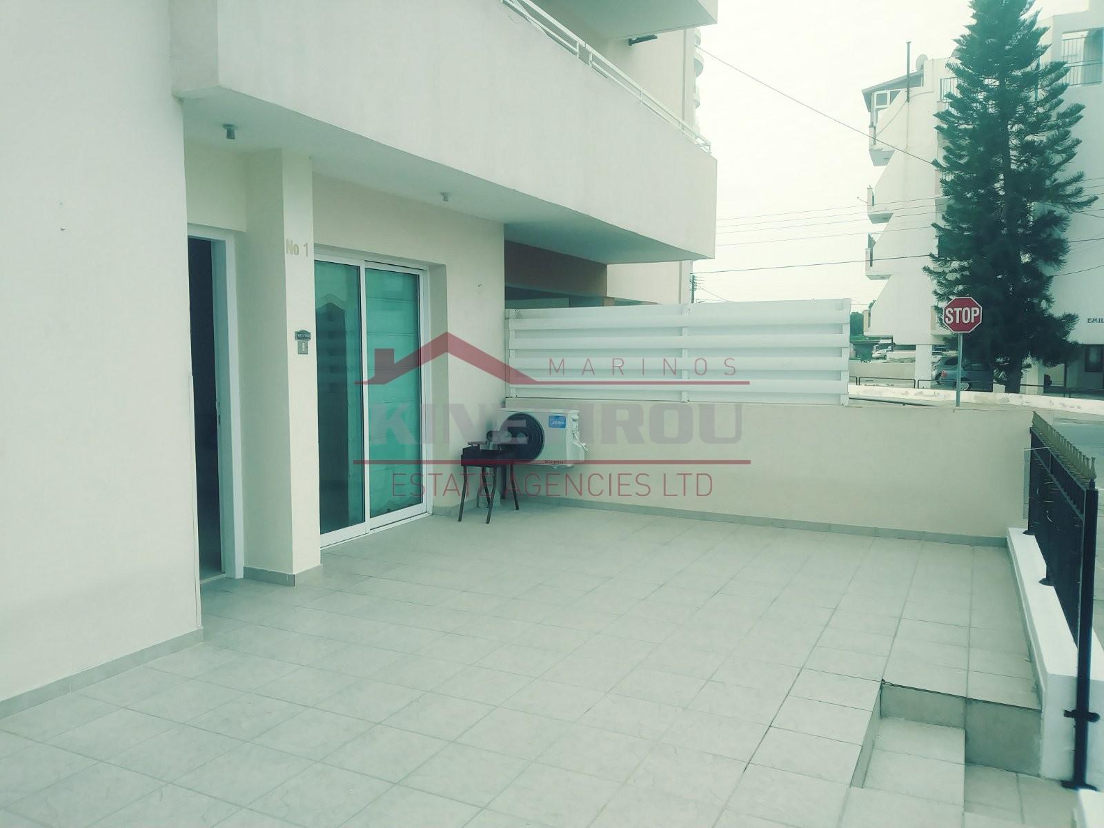 3 Bedrooms Ground Floor Apartment in Makenzie area, Larnaca