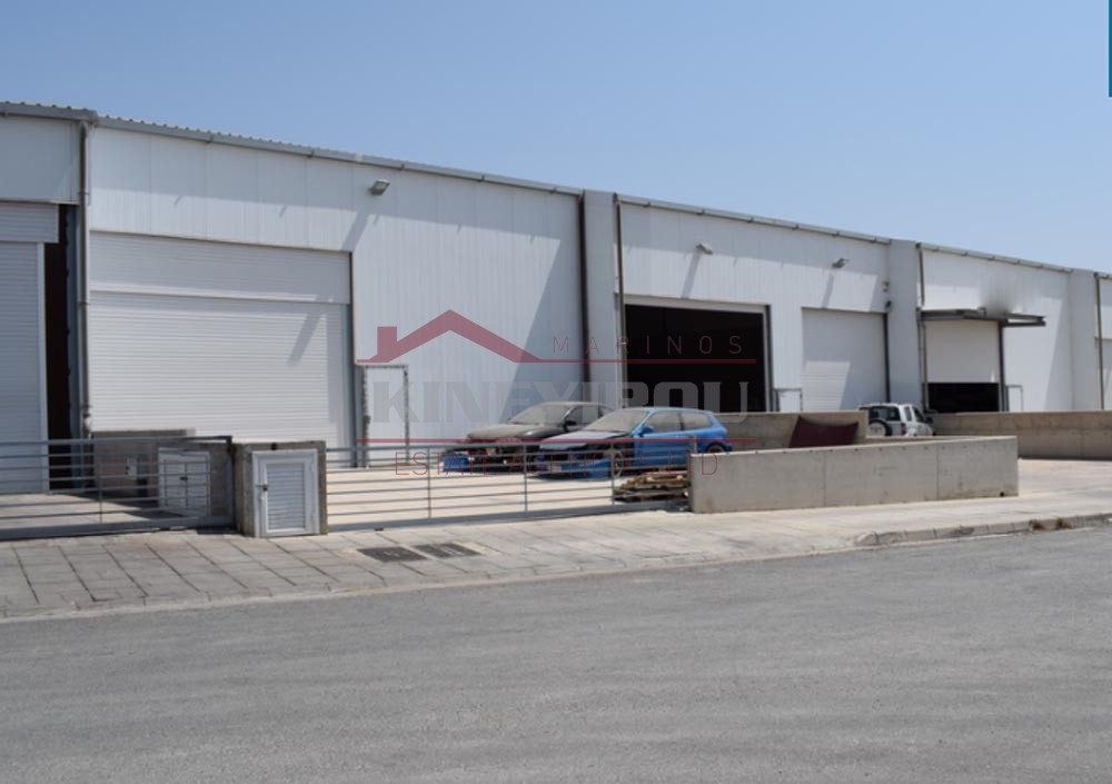 Complex of five industrial warehouses in Aradippou,Larnaca