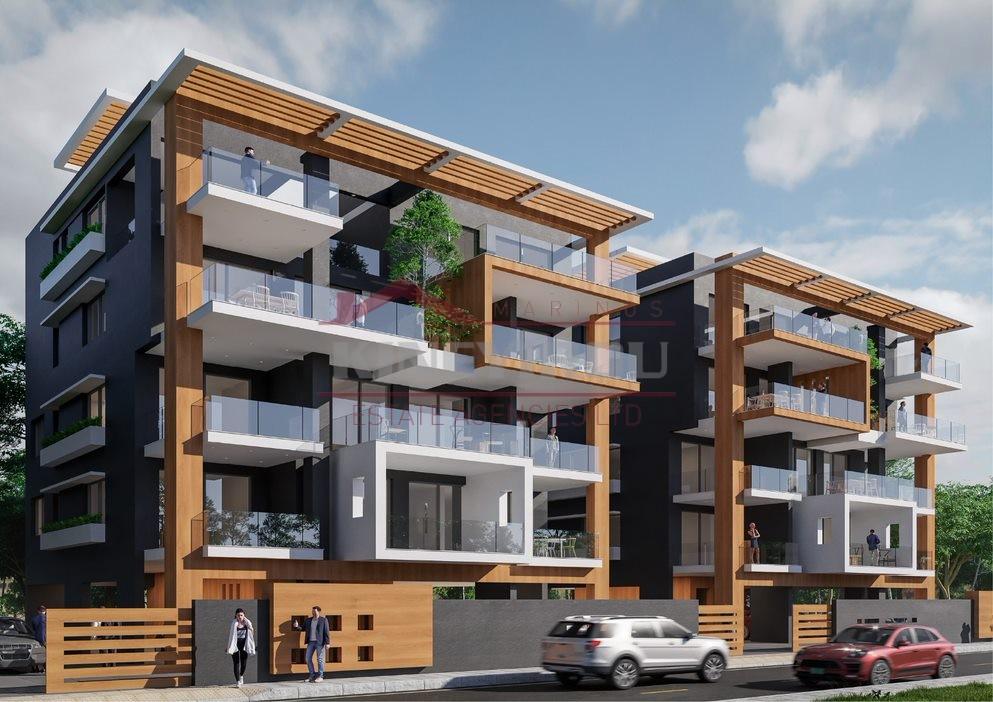 2 Bedroom Top Floor Apartment in New Marina area, Larnaca