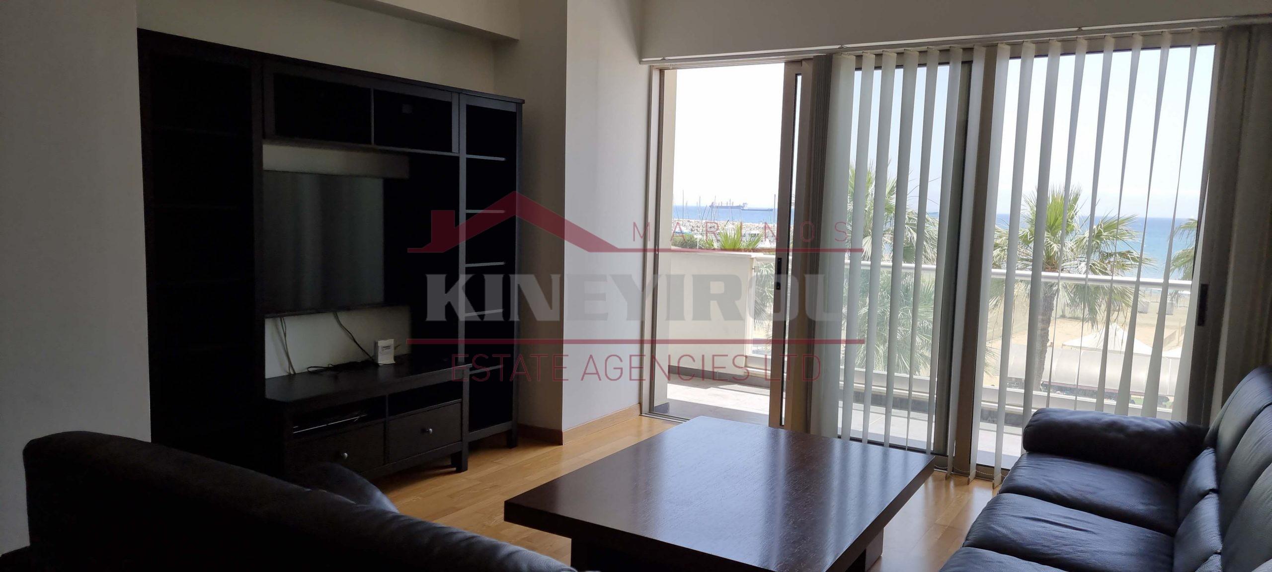 2 Bedroom Sea Front Apartment in Finikoudes, Larnaca