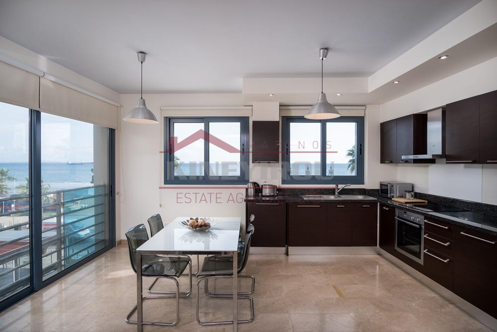 2 Bedroom Apartment with sea front view in Finikoudes, Larnaca