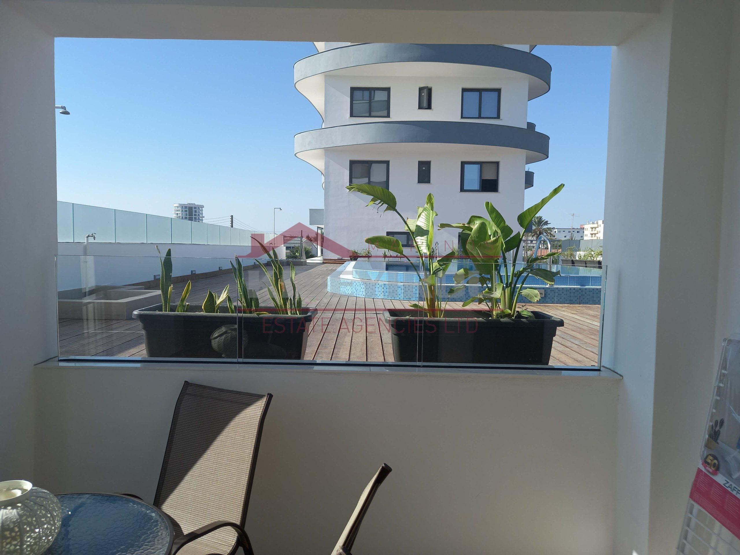 Luxury one bedroom apartment in Larnaca Center
