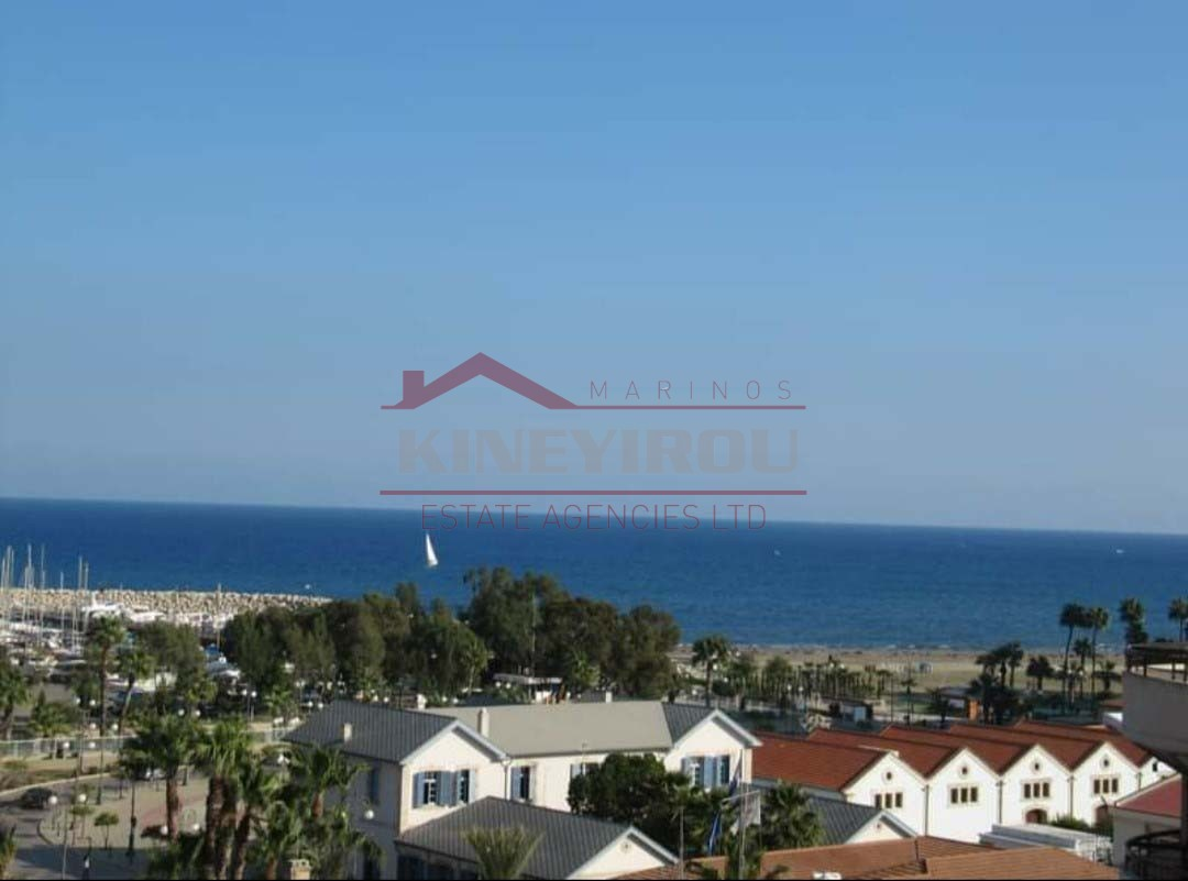 Sea view – Two bedroom apartment, in the Center of Larnaca