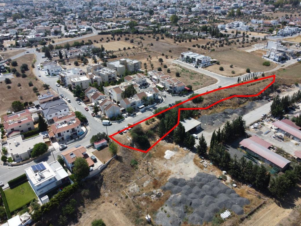 Field in Lakatamia, Nicosia