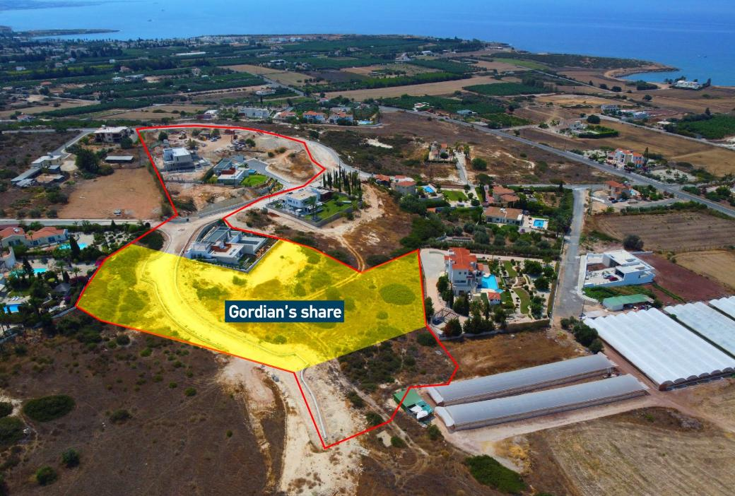 Shared field in Pegeia, Paphos