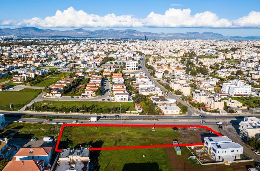 Shared field in Strovolos, Nicosia
