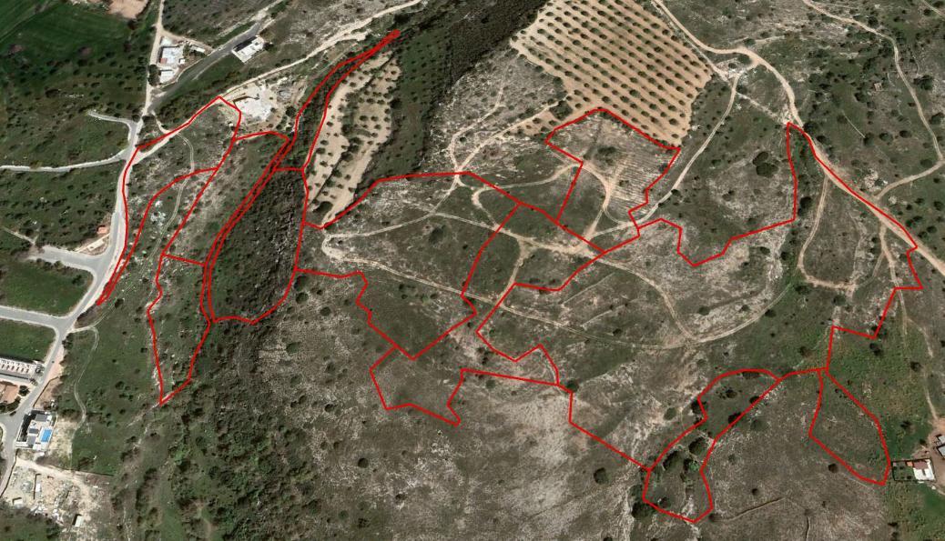 Eleven fields in Anavargos, Paphos