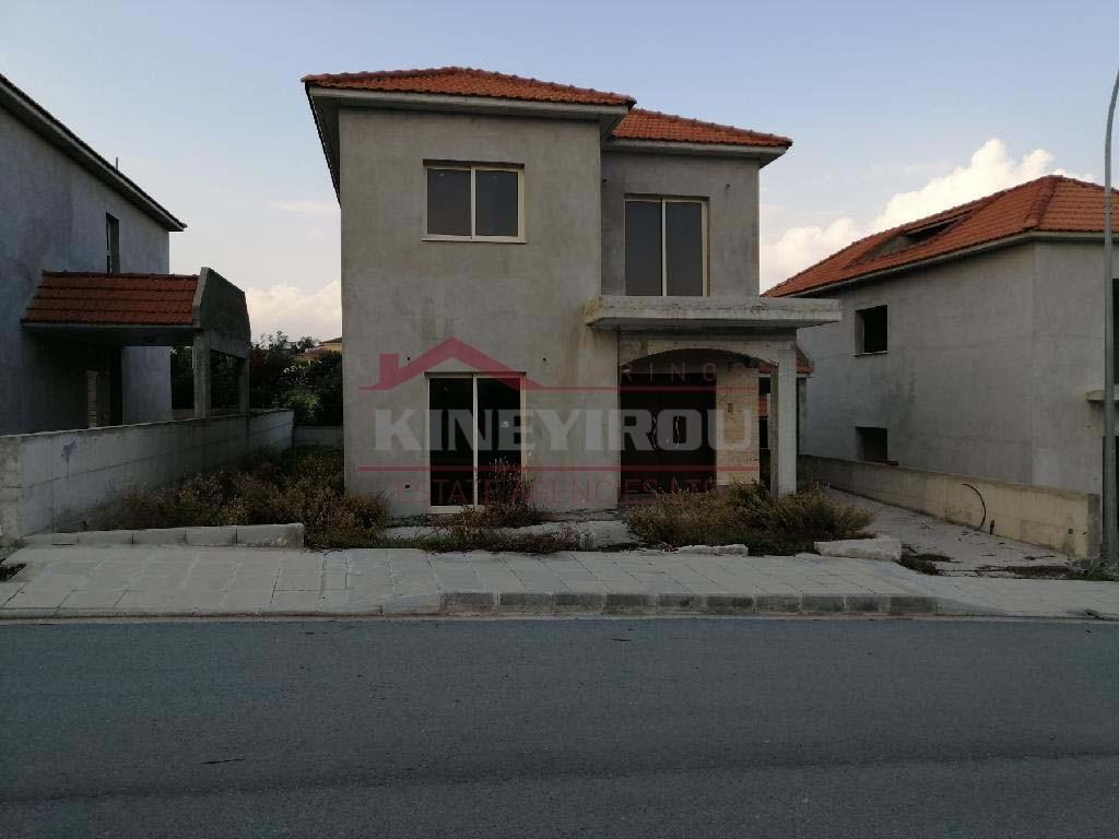 3 Incomplete Houses in Episkopi, Limassol